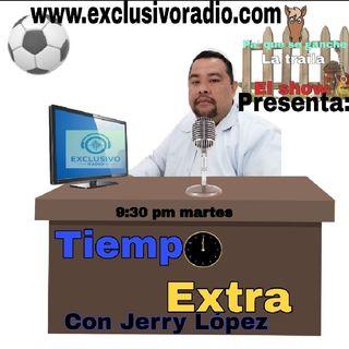 TIEMPO EXTRA CON: Jerry Lopez ,parte 1