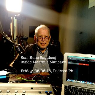Sen. Rene Saguisag in Martin's Mancave #83
