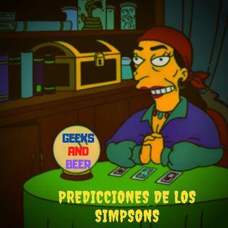 # geeks and beers -  Predicciones de los Simpsons