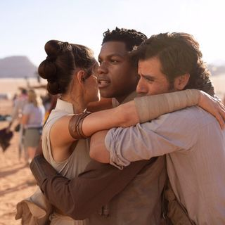 A Star Wars Podcast: Hey, John Boyega. What's up?! Finn was great!