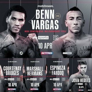 Preview Of The Sky Sports Boxing Card Headlined By Conor Benn Vs Samuel Vargas In The Copperbox Arena In London On Sky Sports