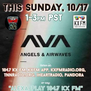 TNN RADIO   October 17, 2021 show with Angels & Airwaves and The Go-Go's