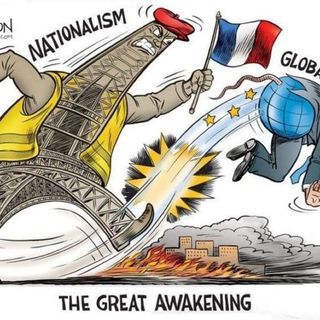 Immigration without Assimilation is Foreign Invasion: Cliche Is Right. France, Germany, UK, and South Africa in Civil Strife from Globalism