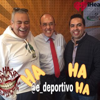 Buen Humor y Risas Garantizadas en Espacio Deportivo de la Tarde 28 de Agosto 2019