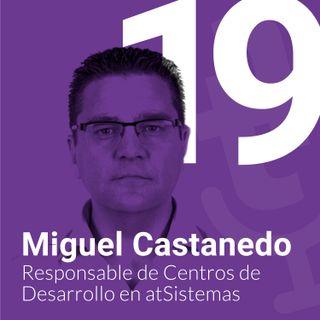 Episodio #19: Mantener la cultura empresarial en grandes empresas en remoto con Miguel Castanedo de atSistemas