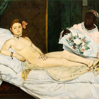 Musée d'Orsay #5 - Édouard Manet, Olimpia