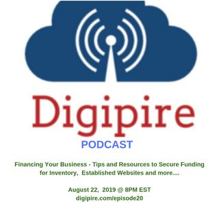 Episode 20 – Financing Your Business – Tips and Resources to Secure Funding for Inventory, Established Websites and more….