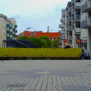 AmbientPlaces #8 - Stockholm, Liljeholmstorget, station plaza, 2nd June 2015