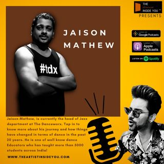 Live Talk with Jaison Mathew, Senior Head at The Danceworx who has been teaching and mentoring students for more than 23 years now.