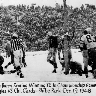 TGT Presents On This Day: December 19, 1948, The Eagles Beat the Cardinals in a Snowstorm to Win NFL Championship