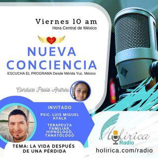 Nueva Conciencia entrevista con Luis Ayala