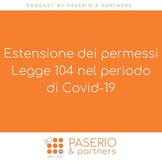 Estensione dei permessi Legge 104 nel periodo di Covid-19