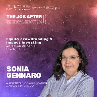 Equity crowdfunding & Impact Investing | Sonia Gennaro