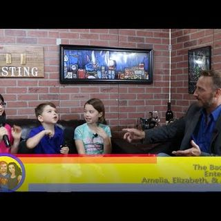 Creative Arts: 'From The Mouth of Babes'  The Bader Kids: an interview on the Hangin With Web Show