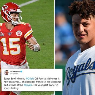 Mahomes becomes The Youngest Athlete Ever To Own A Sports Franchise
