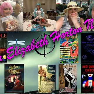 "A Visit With the ""Seductress of Suspense"" Author Elizabeth Horton Newton on the Hangin With Web Show"