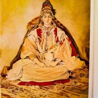 Il costume degli ebrei marocchini: la sposa