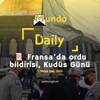 📜 Fransa'da ordu bildirisi, Kudüs Günü