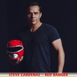 Steve Cardenas Red Ranger