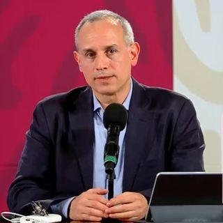 Alfonso Ramírez, califica de ejemplar el trabajo de Hugo López-Gatell