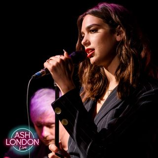 Due Lipa Acoustic - Performing on Ash London Live + interview