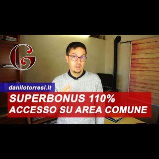 SUPERBONUS 110% abitazione indipendente con accesso autonomo