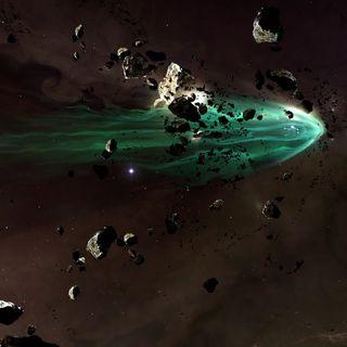 19E-31-A Gentle Breakup Of An Asteroid
