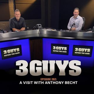 A Visit With Anthony Becht with Tony Caridi and Brad Howe