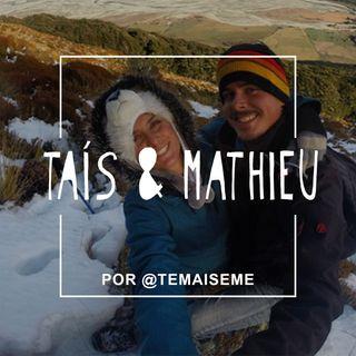 #08 - Tais e Mathieu (Share a Trip) - As alegrais e as dores de uma vida verdadeiramente nômade