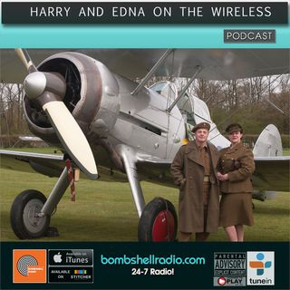 Harry and Edna on the Wireless - Perfect Vintage