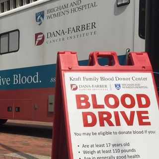 Blood Drive Held At City Hall For One Boston Day