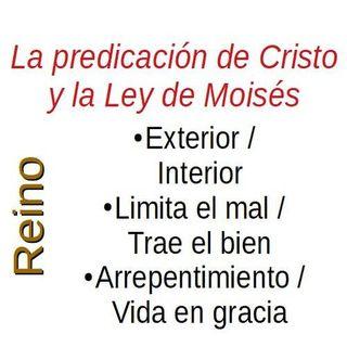 Jesucristo ante la Ley de Moisés
