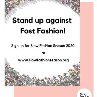 Slow Fashion Season: come puoi ridurre in 3 mesi l'impatto della moda per risparmiare 750 milioni di litri di acqua e 2,5 milioni di kg di C