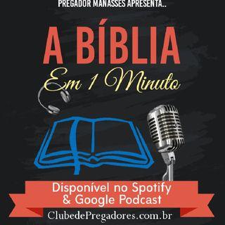Bíblia em 1 Minuto - EP27 Profetas Maiores