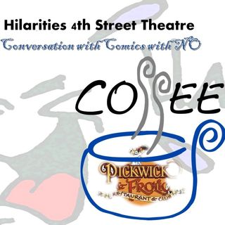 Conversation with Comics with NO COFFEE_Mary Santora_7_30_20