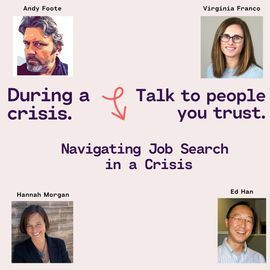 Resume Storyteller with Virginia Franco – Managing Job Search in a Crisis