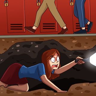 Un túnel secreto reveló el secreto más oscuro de mi escuela