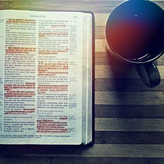 Un caffè con la Bibbia