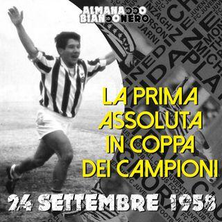 24 settembre 1958 - La prima assoluta in Coppa dei Campioni