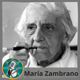Blas Becerra con María Zambrano