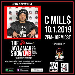 C-Mills Live On The JayLamar Show LIVE, Episode 5