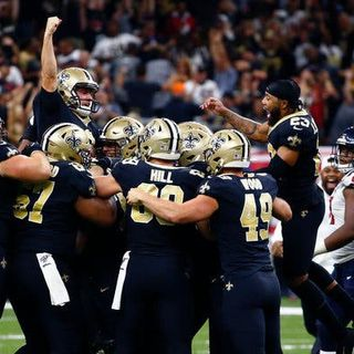 NFL Monday Night Review and News: Saints win a classic, Raiders look good, plus NFL news W/Mike Goodpaster and Anthony Cervino