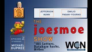Joesmoe Show - #2 (8 22 19) - IRS Letters, Database hacks, MtGox