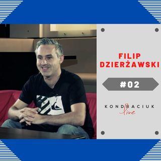 Reżyser Filip Dzierżawski w Kondraciuk LIVE! #02