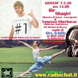 Ilir Shaqiri e Vanessa Gherbavaz ospiti di Alex Achille in RED ZONE by Radiochat.it