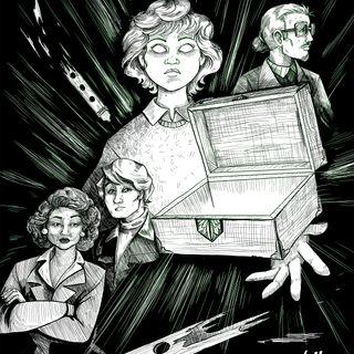 "S4E13: ""Von Hameln, Part 3: The Girl, The Box, and the Komainu"", by Daniel Foytik"