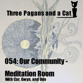 Episode 054: Our Community: Meditation Room