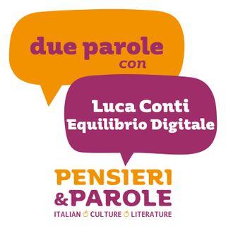 73_Equilibrio digitale con Luca Conti (livello avanzato)