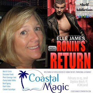 Ep 137: #CMCon18 Featured Author Interview w/ Elle James   Book Chat