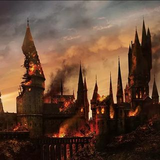 Harry Potter And The Deathly Hallows, Chapter 31- The Battle Of Hogwarts